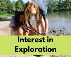Interest in exploration