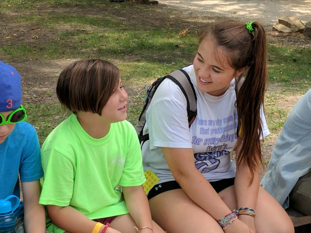 Using trauma-informed care helps campers build new relationships with peers and adults.