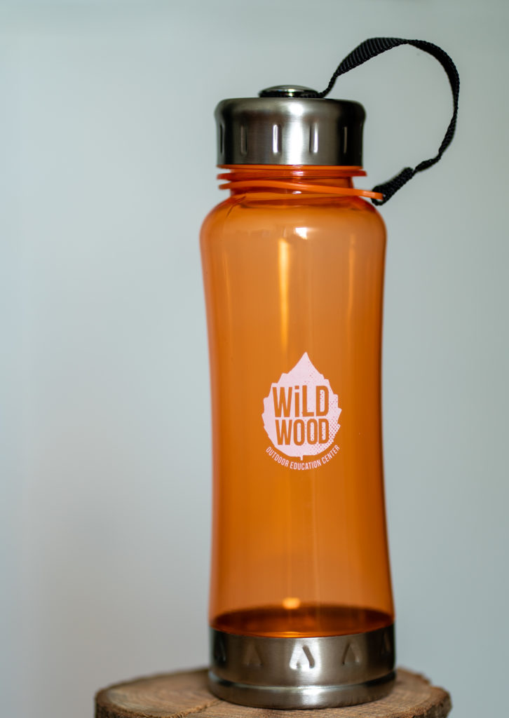Wildwood Orange Water Bottle