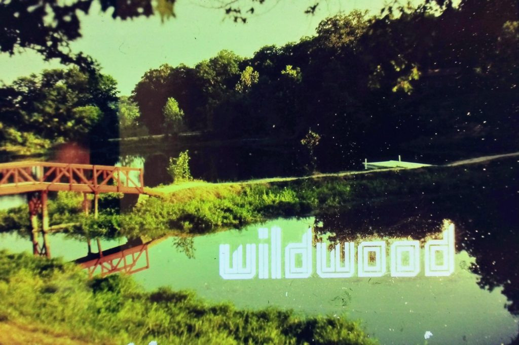 An old Wildwood slide that we recently uncovered.